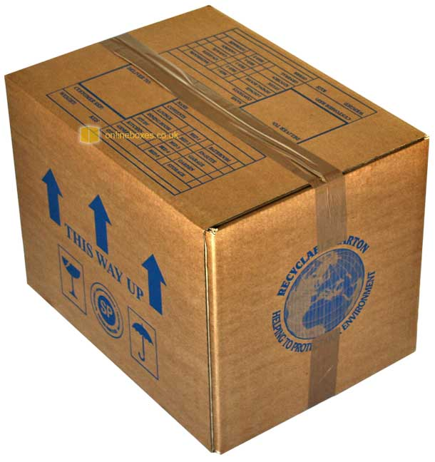 Book Box  sc 1 st  OnlineBoxes.co.uk & Book Boxes For Books For Moving House Packing Storage UK