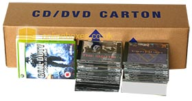 Box For Moving CDs And DVDs