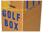 Cardboard Golf Equipment Moving Box