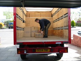 Loading The Removals Van