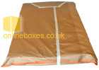 King Size Matress Brown Cover for Moving House