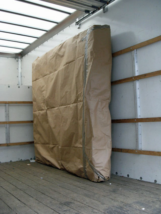 Mattress in Removal Van