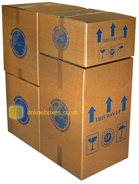 Stackable Cardboard Removal Box Modular System