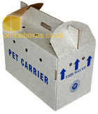 Cardboard Pet Moving Box