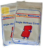 Polythene Single Matress Cover