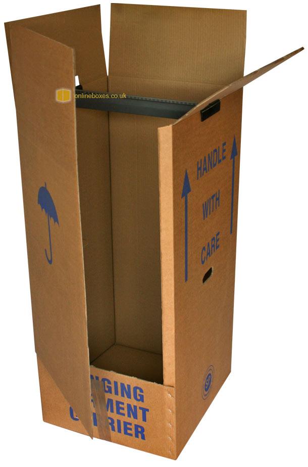 wardrobe boxes cardboard removal wardrobes for moving. Black Bedroom Furniture Sets. Home Design Ideas